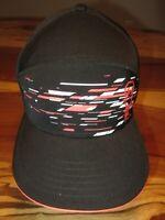 Under Armour Mens Baseball Cap, Hat, Black, Logo, Snapback, EUC