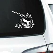 B210 HUNTER HUNTING RIFLE GUN BOW DEER VINYL DECAL CAR TRUCK VAN SUV LAPTOP