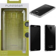 Samsung Galaxy Note 3 PureGear SlimShell Case Cover Clear W/ Black Trim, 60414PG