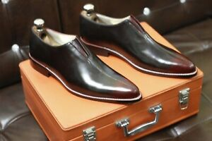 New Handmade Men leather shoe,Goodyear welted Formal shoes