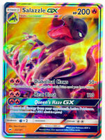 Salazzle GX 25/147 Holo Rare Burning Shadows NM+ with Tracking