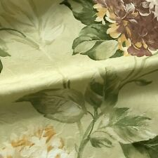 Multicolored Country Chic Damask Faux Silk Fabric by the Yard - 54""