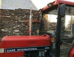 Edelstahl auspuff traktor passend für IHC 644/744/840/844/633/733/833 mit Bogen