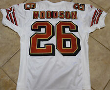PITTSBURGH STEELERS HOF ROD WOODSON 49ERS PRO LINE AUTHENTIC JERSEY  46 SHORT