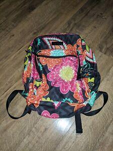 Vera Bradley Ziggy Zinnia Lighten Up Large Backpack Multicolor