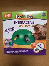 Pop N' Play Interactive Motion Cat Toy, Includes: Electronic Smart Random Moving