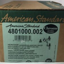 AMERICAN STANDARD #4801000.002 UPC# 01261117973 HERITAGE WIDESPREAD  FAUCET