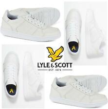 Men's Lyle & Scott McAvennie Classic Sports Trainers Sneakers Shoes White
