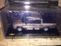 "DIE CAST "" CHEVROLET S-10 DELUXE 2.5 CABINE DUPLA - 2009 "" CHEVROLET SCALA 1/43"