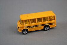 V579 Corgi Juniors 73mm ref 1278081 mercedes benz school bus jaune pas de boite