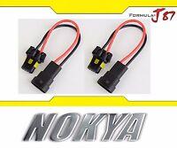 Nokya Wire Harness 9011 HIR1 NoK9115 Head Light Bulb Socket Female Male High Bea