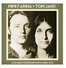 Mimi Farina & Tom Jans - Case Western Reserve, 8th April 1972 (2014)  CD  NEW