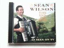 CD SEAN WILSON TURN BACK THE YEARS Prism 1992 Folk Album 18 Tracks