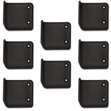 Goldwood Sound PFC-1642 Heavy Duty Thick ABS Plastic Cabinet Corners Set of 8