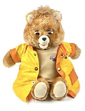 Original 1985 Teddy Ruxpin Bear with The Airship Cassette - WORKS