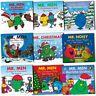 Mr. Men Christmas Childrens Collection 10 Books Set Pack New Gift -Mr Christmas
