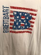 Breitbart American Flag Patriot T-Shirt, Republican T, Size Medium, slim fit