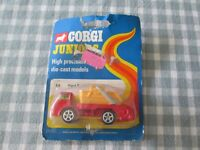 "CORGI JUNIOR  No.54    ""   FORD CONTAINER WAGON WITH SKIP "" -CARDED"
