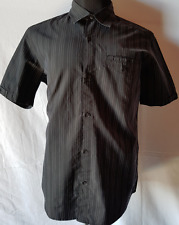MENS SHIRT QUIKSILVER SHORT SLEEVED BUTTON UP SIZE MEDIUM