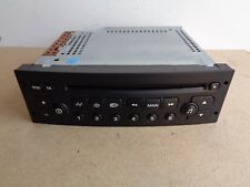 Peugeot 206 307 Partner C2 C3 Berlingo CD Player FREE PROGRAMMING