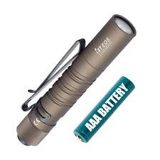 Olight I3T EOS Desert Tan 180 Lumen AAA Battery Powered LED Flashlight