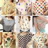 Fashion Women Casual Short Sleeve Loose Summer Chiffon T-shirt Tops Shirt Blouse