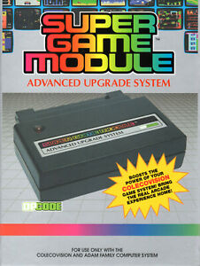 SUPER GAME MODULE - SGM - Colecovision / ADAM Adapter  NEW / CIB  LATEST RELEASE