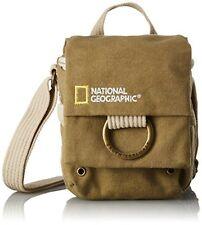 NATIONAL GEOGRAPHIC Shoulder Bag Earth Explore Collection 1.3L Khaki Canvas F/S