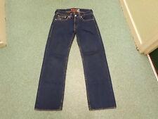 """Levi's tipo 1 real loose jeans vita 32"""" Gamba 34"""" Sbiadito Jeans Da Uomo Blu Scuro"""