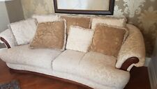 Fornirama Traditional Living Family Room Fabric Couch Loveseat Sofa Set 3+2 seat