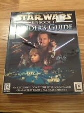 STAR WARS EPISODE 1 INSIDER'S GUIDE WINDOWS 95/98 NEW FACTORY SEALED