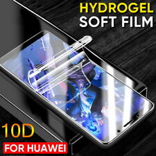 For Huawei Mate 20 P30 Pro Lite Honor 20 10D Soft Hydrogel Film Screen Protector