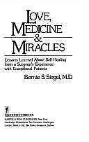 Love, Medicine and Miracles, Bernie S. Siegel M.D., 0060914068, Book, Good