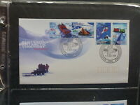 AUSTRALIA 1998 AAT TRANSPORT SET 4 STAMPS FDC FIRST DAY COVER DAVIS