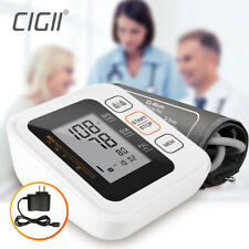 Home Health Digital LCD Upper Arm Blood Pressure Pulse Monitor Meter Portable