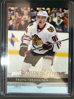 2014-15 UD Young Guns Rookie Teuvo Teravainen