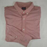 Untuckit XXL Red Button Down Long Sleeve Shirt