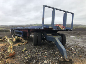 used artic trailers With Dolly