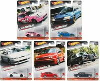 Hot Wheels Premium Car Culture 2020 Modern Classics Set of 5 Car Case 956S