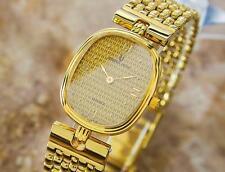 Rare Universal Geneve 523.612 Stainless Gold Pltd Quartz 2000s Ladies Watch L61