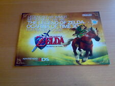 Zelda Ocarina of Time 3d 25 th Anniversary póster Gamescom Nintendo 2011