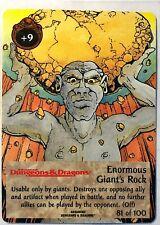 Spellfire Runes & Ruins Enormous Giant's Rock 81/100