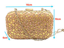 Blingustyle New Lady sliver/pink Crystal Diamante Evening Party Clutch Bag 04