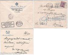 # MINISTERO DELLA GUERRA- SANITA'-  1929- BUSTINA VIAGGIATA
