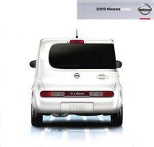 2009 09 Nissan Cube original sales brochure Mint