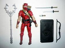 Gi Joe Rojo Ninja 25th Aniversario Figura de Acción Completo C9+ v3 2008