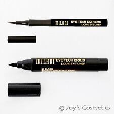 "2 MILANI Eye Tech Liquid EyeLiner Set - ""MTB 01 + MTE 01""   *Joy's cosmetics*"