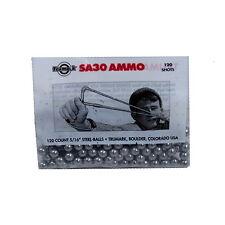 120 count 5/16 steel balls slingshot ammo TRUMARK 30 cal sling shot SA30