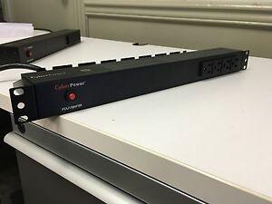 CyberPower Basic PDU15B4F8R 12-Outlets PDU W/ RACKS