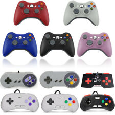 XBOX 360 / NES / SNES / N64 Wired USB Controller Gamepad Joypad Windows PC / MAC